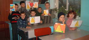 Bible Lessons in Ukrainian orphanages